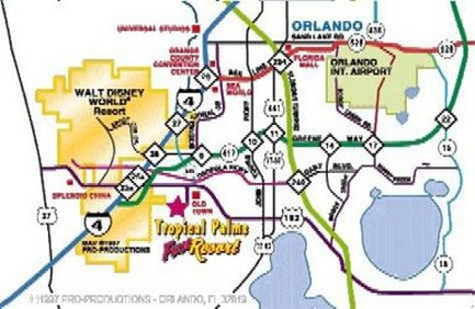 Old Town Florida Map.Hotels Near Old Town Kissimmee Florida