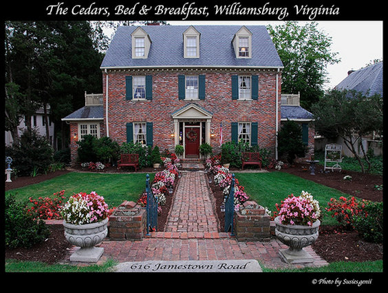 Cedars Of Williamsburg BandB